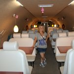 ConAir plane used as dining area