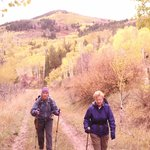Hike on Emerald Mt..Wind in the Aspens.