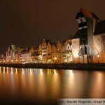 Gdansk Old Town at night