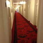The Shining-type corridor