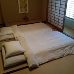 Futon Bed in Japanese Suite