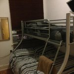 supposed to be single room... bunk beds