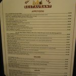 Royal Indian Restaurant menu - 02-12-2013