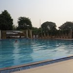 The Suryaa swimming pool