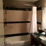 Bathroom and rainfall shower head