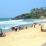 Kovalam Crescent Beach