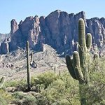 Lost Dutchman State Park is not far away from the hotel