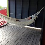 Fell asleep in the hammock
