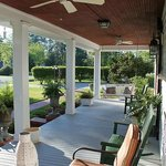 Beautiful large front porch