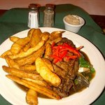 Steak and Cajun Fries