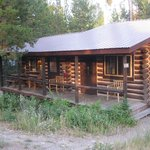Our rustic cabin