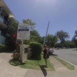 Entrance to Twin Quays Apartments - Noosaville