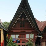 batak house style accommodation at Merlyn's