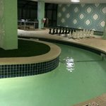 Indoor pool deck