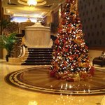 The lobby during Christmas!
