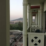 The Balcony was small and opening the doors meant an invitation to all the insects in Bhopal
