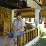 Balcony of Alumbung Cottage