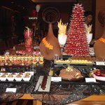 Grand Hyatt Dessert  Table