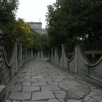 street view to the hostel, Travelers Soul Inn, Nanjing