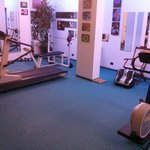 Totally lame fitness area and options, shouldn't even market this as a feature