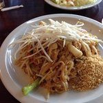 Chicken Pad Thai at Sila