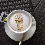coffee served specialy for us