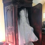 My wedding dress in our room