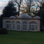Beautiful orangery in the grounds