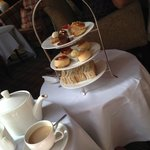 The high tea tray.