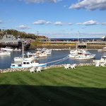 View of Perkins Cove from our balcony