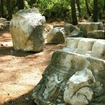 The ruins of Phaselis.