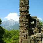 The ruins of Mount Olympus.