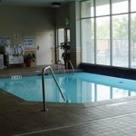 Indoor Pool-There is also an outside pool