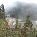 The bridge at Heceta Head Lighthouse