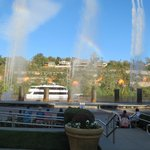 Sightseeing-Branson Landing fountain and flame show