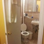 bathroom in single room