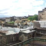 Rooftop view 1 - panorama of medina rooftops