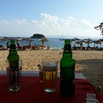 Local beach + optional Mythos