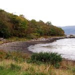 The beach at Kinloch Lodge