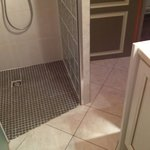 Bathroom tiled shower