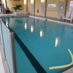 Indoor salt water pool - lap section
