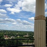 One view from the top of the Hermann Monument