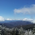 Clingman's Dome..we biked it down & then all the way to Lil' Cuban Cafe