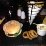 £12 Burger + Fries (Charged Extra For £3.95)