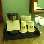 Make your own Starbucks coffee in room