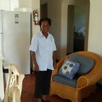Head housekeeper Fiona