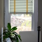Window blind (and 2nd 'bedside' light)
