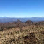 View from nearby Huckleberry Knob, an easy hike off the Skyway