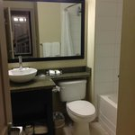 Room 354 Bathroom, Sandman Hotel & Suites Winnipeg Airport  |  1750 Sargent Ave, Winnipeg, Manit