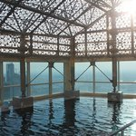 The stunning rooftop infinity pool InterContinental Doha The City